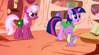 Cheerilee with her saddlebag S01E18