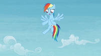 Rainbow 'has color-coordinated horseshoes or anything!' S4E10