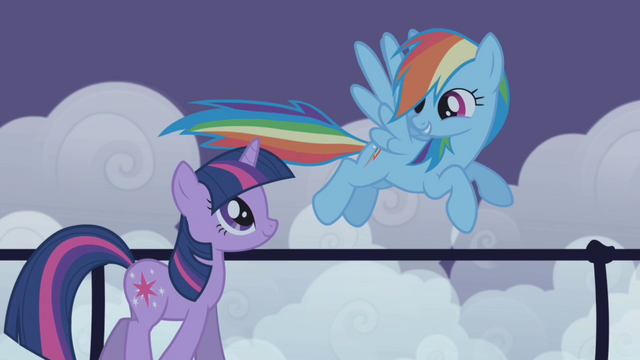 "File:Rainbow Dash ""I'd never leave my friends hangin"" S1E02.png"