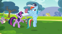 Rainbow Dash an excuse S2E22