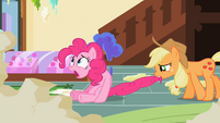 Pinkie with mouth gaping open S2E10
