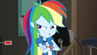 Rainbow Dash mad that she lost the thief EGS2