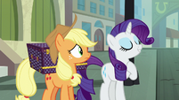 "Rarity ""walk with speed and confidence"" S5E16"