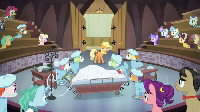 File:Young Applejack admits to her lies S6E23.png