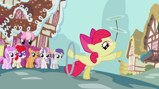 File:Apple Bloom posing while doing her tricks S2E06.png