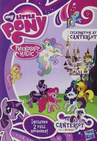 File:Celebration at Canterlot DVD front.jpg