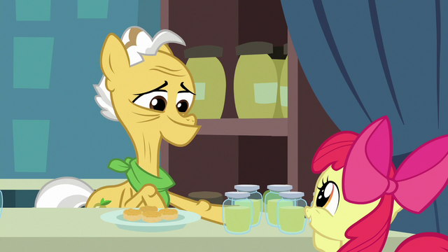File:Grand Pear gives Apple Bloom pear jam for free S7E13.png