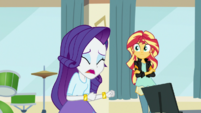 """Rarity """"I never have convinced you all"""" EGS1"""
