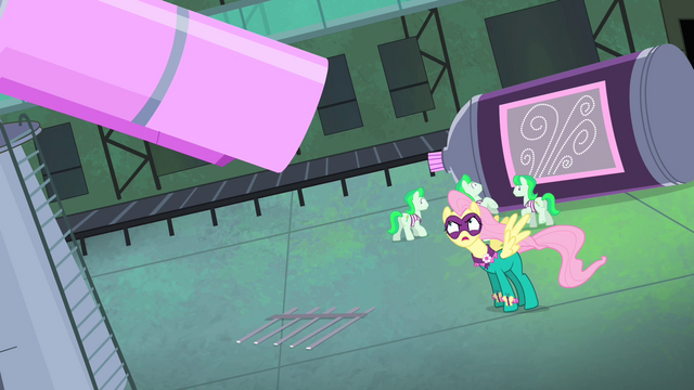 File:Fluttershy yelling at Mane-iac S4E06.png