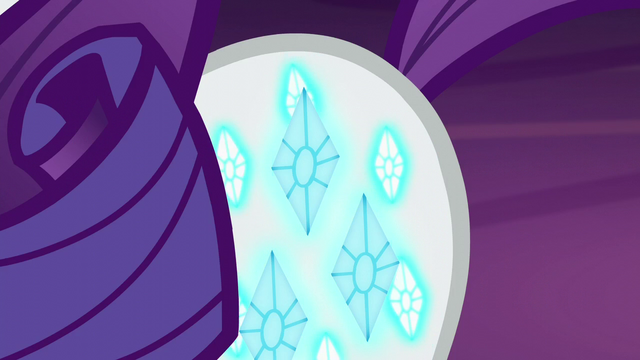 File:Rarity's shimmering cutie mark S5E16.png