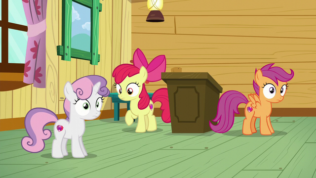 File:Sweetie Belle and Scootaloo realizes it S6E4.png