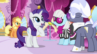 "Rarity ""Miss Pommel is showing?"" S7E9"