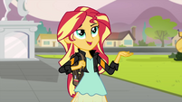 "Sunset Shimmer ""I'll catch up in a bit"" EG3"
