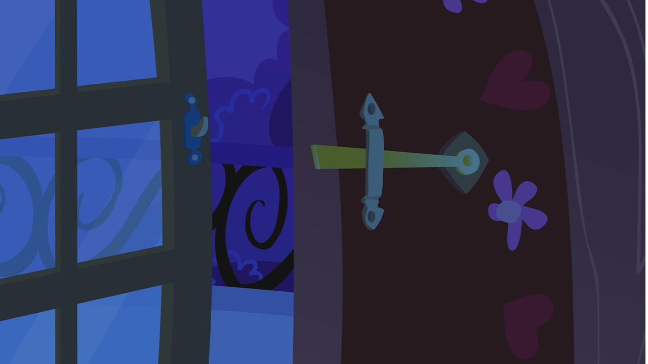 Image balcony door left open by twilight my for My little magic door