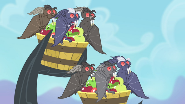 File:The bats being Stared upon S4E07.png