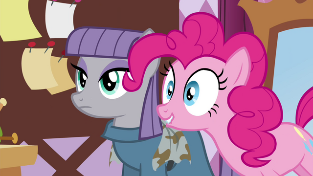 "File:Pinkie Pie ""Doesn't Maud make the coolest scarves?"" S4E18.png"