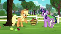 "Applejack ""Pinkie Pie says it's Rarity's fault"" S6E22"