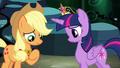 Applejack speaking to Twilight S4E02.png