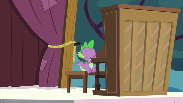 "File:Spike ""playing"" a piano S5E11.png"