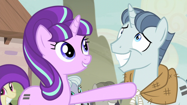 """File:Starlight """"well done, Party Favor!"""" S5E2.png"""