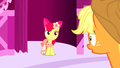 Apple Bloom smiles at AJ S5E7.png