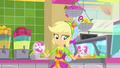 Applejack spinning cups in her hands SS9.png