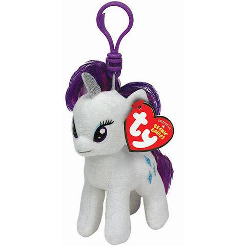 File:Rarity Ty Beanie Baby keychain.jpg
