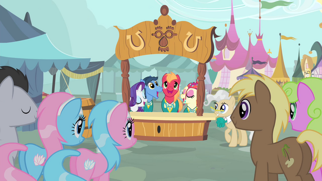File:The Ponytones singing in front of a crowd of ponies S4E14.png