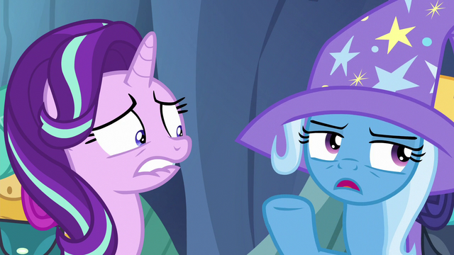 "File:Trixie ""my illusions and Discord's annoying personality"" S6E26.png"