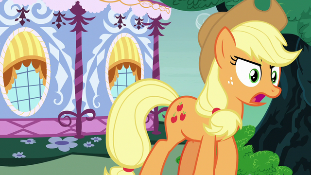 """File:Applejack """"I was just sayin' what I thought!"""" S7E9.png"""