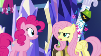 "Fluttershy ""they must not like being scared"" S5E3"