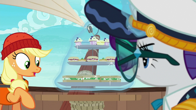 File:Rarity levitates her food tray off the table S6E22.png