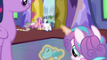 Flurry Heart levitating her blue teddy bear S7E3.png