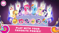 MLP Harmony Quest screenshot - Play With Your Favorite Ponies!