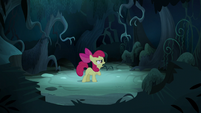 Apple Bloom accuses shadow of casting a spell on her S5E4