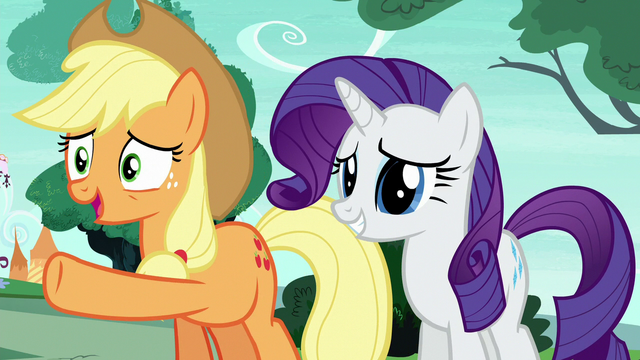 """File:Applejack Changeling """"you freaked out and ran away"""" S6E25.png"""