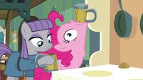 Pinkie Pie drinking cider S4E18