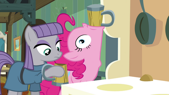 File:Pinkie Pie drinking cider S4E18.png