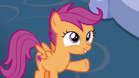 "Scootaloo ""you won fastest cart"" S6E14"