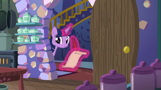 File:Twilight taking notes on Starlight and Pinkie S6E21.png