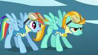 Rainbow Dash not a good sign S3E7
