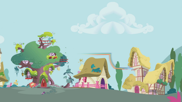 File:Rainbow Dash speeds away from tree S1E05.png