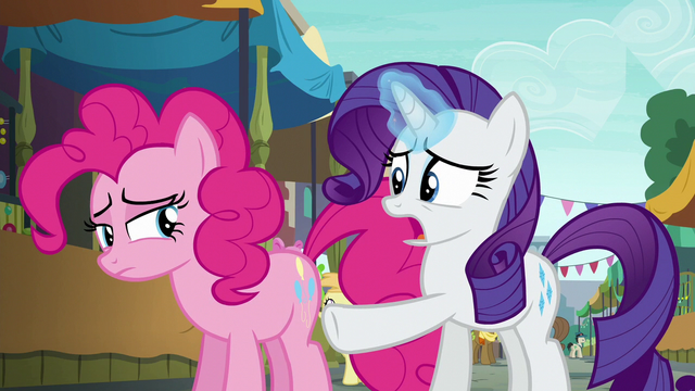 """File:Rarity """"you absolutely love that cannon!"""" S6E3.png"""
