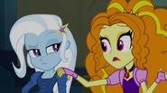 """Adagio Dazzle """"sympathizing"""" with Trixie EG2"""