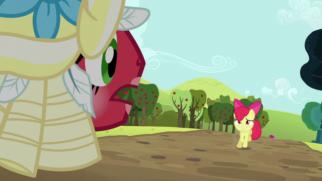 "File:Orchard Blossom ""you're barely movin' at a mosey"" S5E17.png"