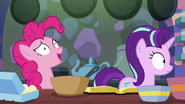 """File:Pinkie Pie """"take what from where?"""" S6E21.png"""