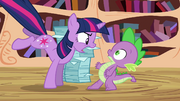 Twilight angry at Spike S3E01.png