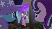 Twilight apologizing to Trixie S6E6