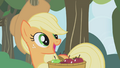 """Applejack """"what you wanna talk about?"""" S1E04.png"""