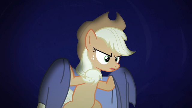 File:Applejack with a sheet S4E07.png